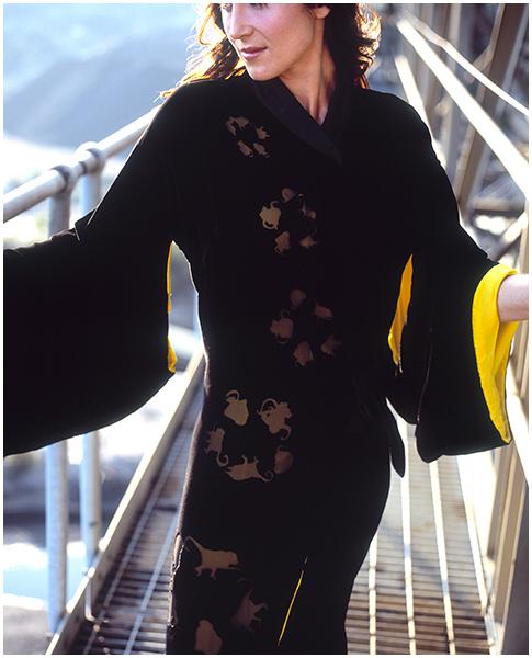 Monkey Kimono (Alexandra Barter)