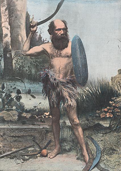 Charles H. Kerry: Indigene Australien arme du Boumerang (National Library of Australia)